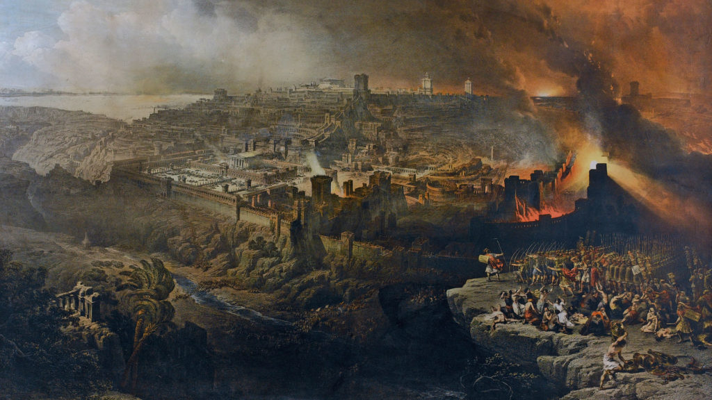 Siege of Jerusalem in 70AD