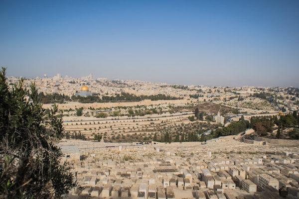 Jerusalem from Mt. of Olives