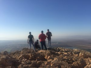 Overlooking Jezreel Valley from Mt. Precipice