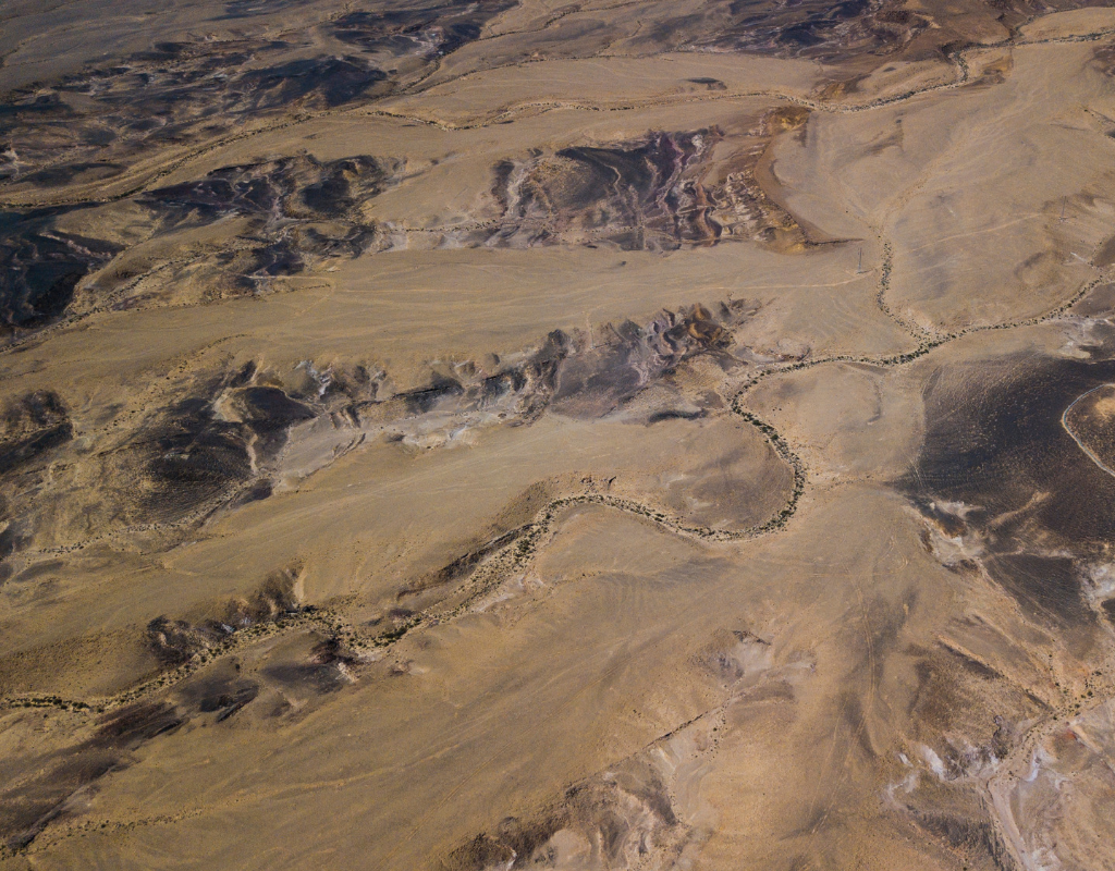 Picture of Negev desert by Sergey Mazhuga of Unsplash.