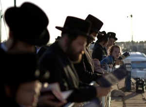 Orthodox Jews in Ashdod