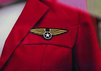 female-flight-attendant