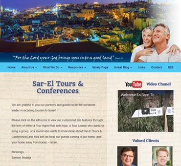 Sar El Christian Tours of Israel