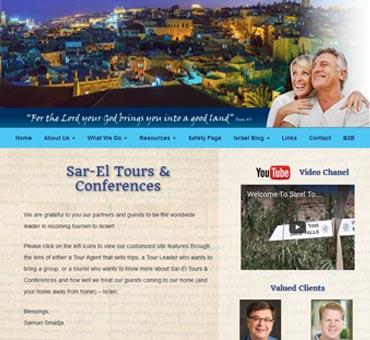 Sar El Christian Tours of Israel