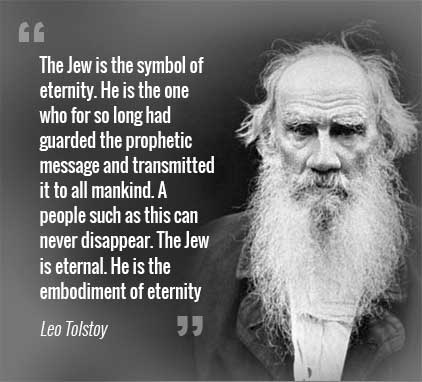 tolstoy quote jew is a symbol