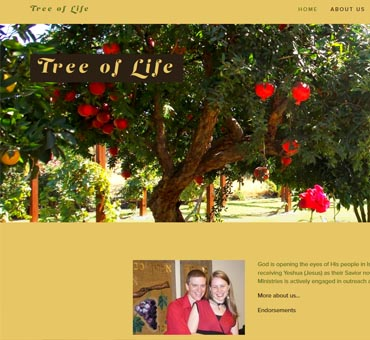 Tree of Life Ministry in Israel